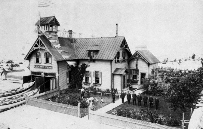Muskegon Life Saving Station 1908