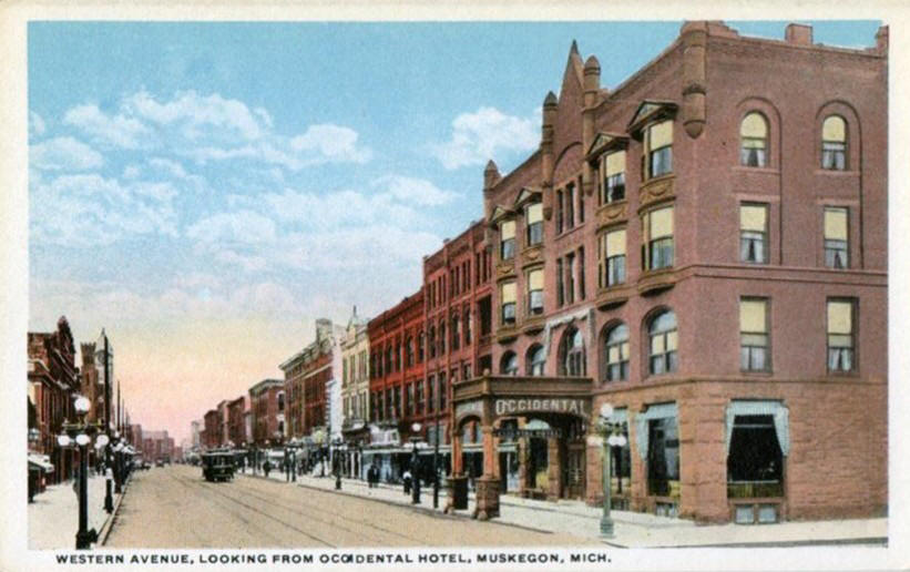 The Occidental Hotel Cira 1915 Located At Corner Of Third Street And Western Avenue Facility Would Undergo Numerous Additions Alterations