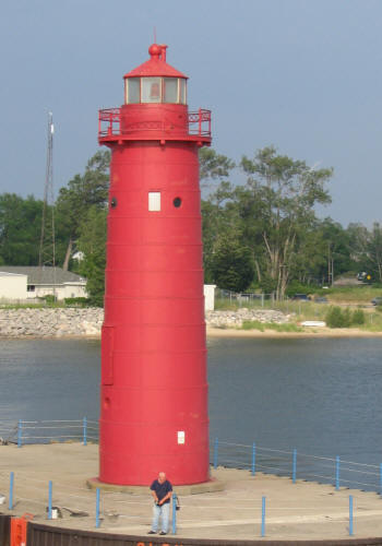 Muskegon Coast Guard Lighthouse
