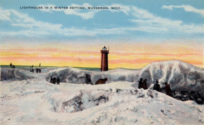 Winter - Lake Michigan Park - Muskegon, MI