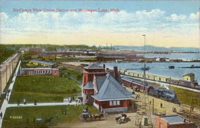 Muskegon's Logging and Lumber | Michigan History